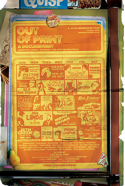 Out of Print Documentary New Beverly Cinema Poster